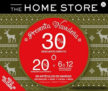Coupon for: Sale from The Home Store at Gran Terraza Oblatos ...